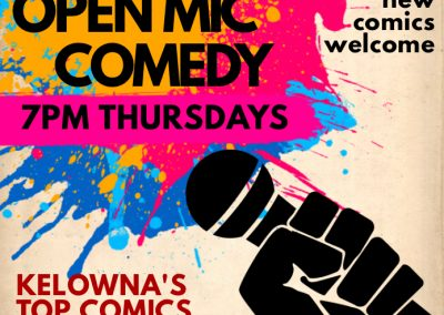 College Open Mic Poster