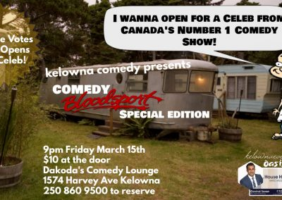 ComedyBloodsportSpecialEdition9pmFridayMarch15th