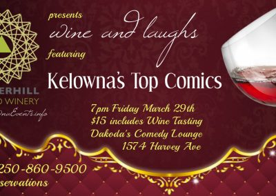 Wine&Laughs7pmFridayMarch29th