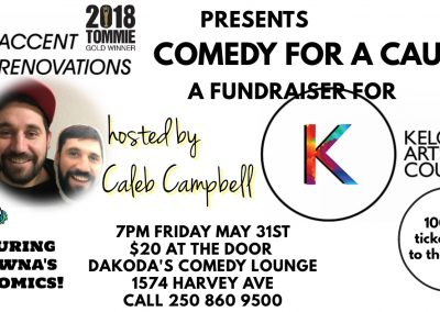 AccentRenovationspresentsComedyforaCause7pmFridayMay31st