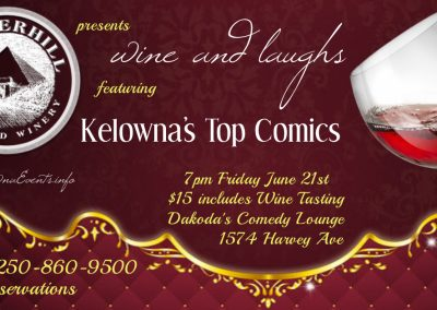 Wine&Laughs7pmFridayJune21st