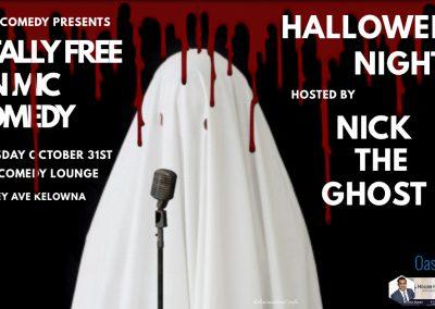 HalloweenOpenMichostedbyNicktheGhost7pmThursdayOctober31st