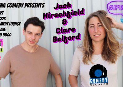 JackHirschfield&ClareBelford9pmFridayDec27th