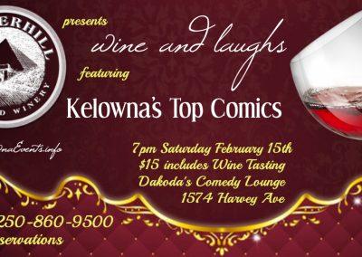Wine&Laughs7pmSaturdayFebruary15th